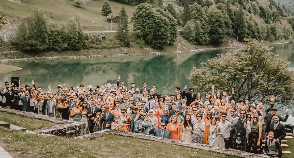Domaine du Baron Wedding Guests - Sam Ingles Photography
