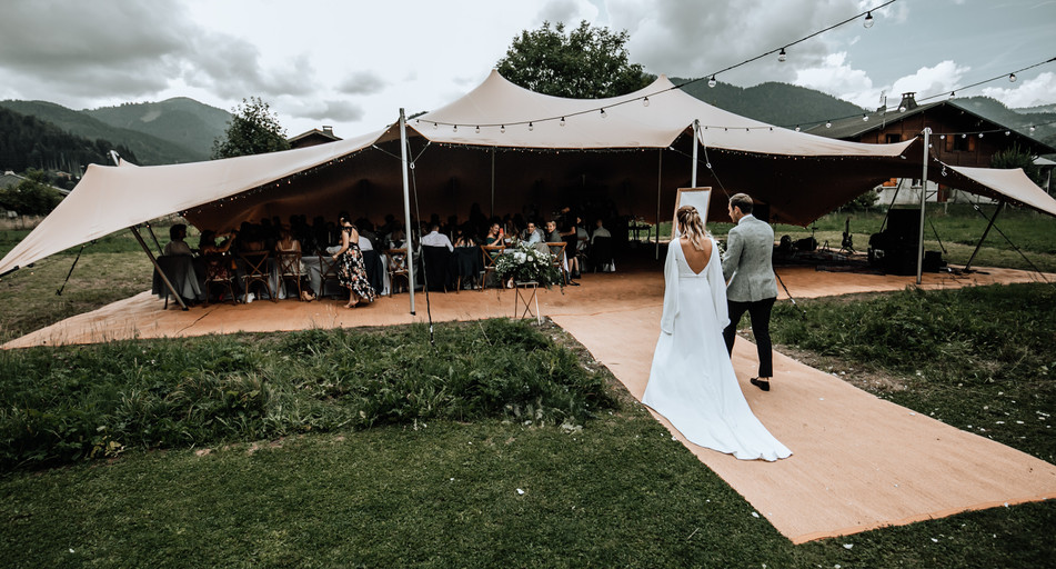 Wedding couple Montriond