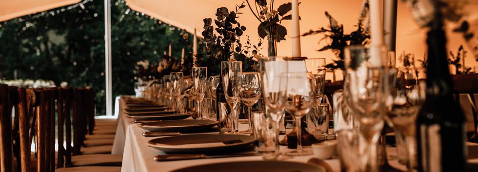 Wedding Table Set up Montriond