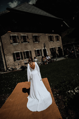 Bride Wedding Venue near Morzine