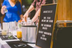 Wedding Cocktails - Sam Ingles Photography
