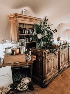 Wedding Bar and Cocktail Trolley Rental