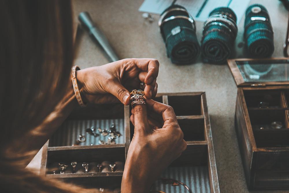 Sustainable weddings rings