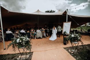 Festival vintage style wedding Montriond