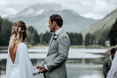 Lac Montriond Ceremony