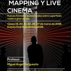 Taller de Mapping y Live Cinema