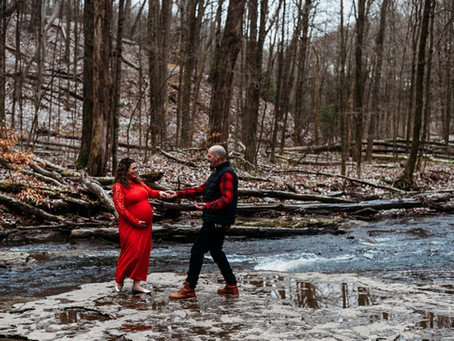 Hell's Hollow Maternity Session, Pittsburgh