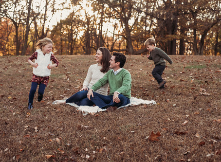 Tag, you're it--Fun Greenville Family Session