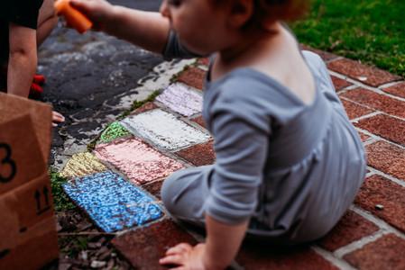 Chalk activities for kids