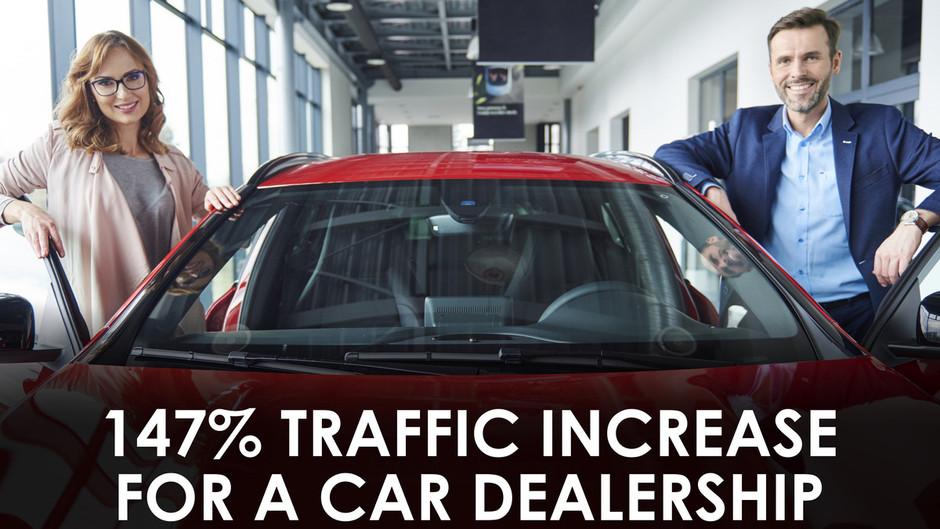 147% Traffic Increase for a Car Dealership - SEO Case Study