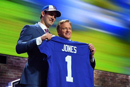 Daniel Jones Draft Night
