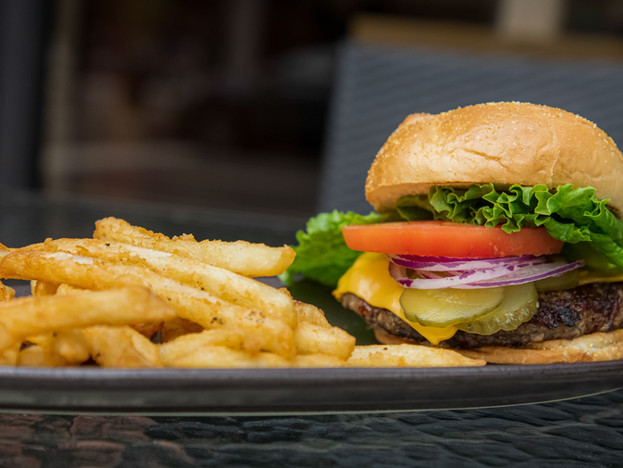 Burger and Fries in Tampa