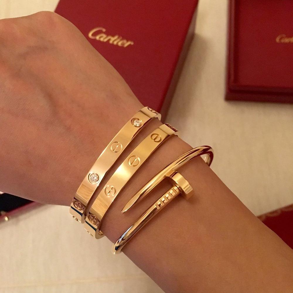 Gold Cartier Love Bracelet