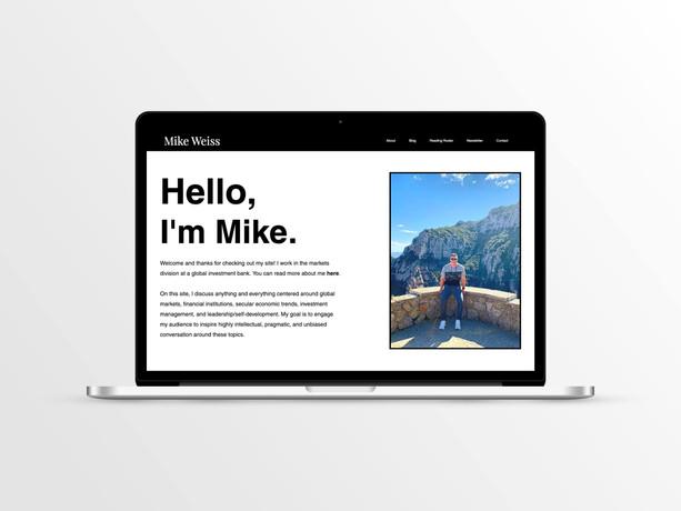 Mike Weiss Website