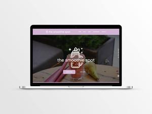 Web Design for Smoothie Restaurant