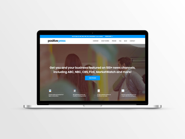 PositivePress Website