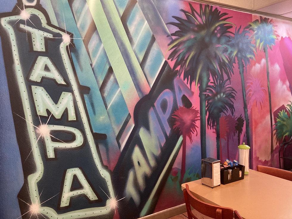 Wall Mural - Samaria Cafe