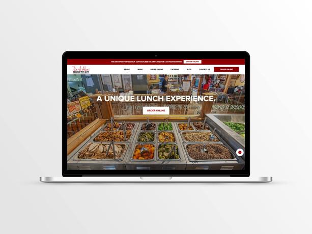 David Alan's Marketplace Website
