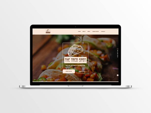 Web Design for Taco Restaurant