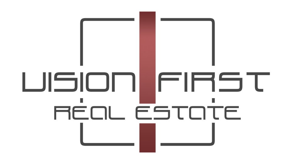 Vision First Logo - Red - Transparent.pn