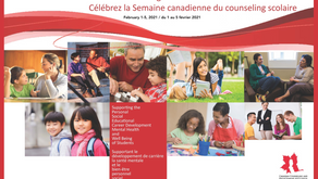 Canadian School Counselling Week - February 1-5, 2021