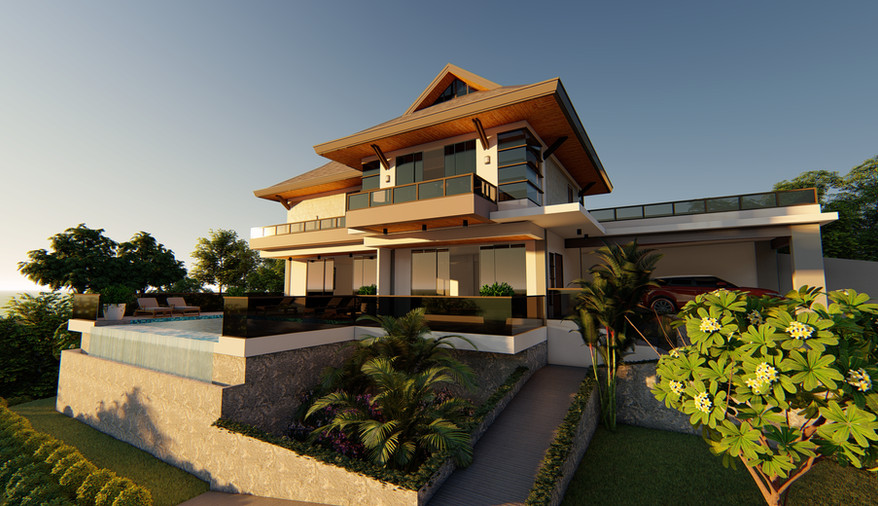 3D Exterior Perspective