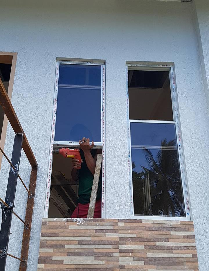 Aluminum Glass Window