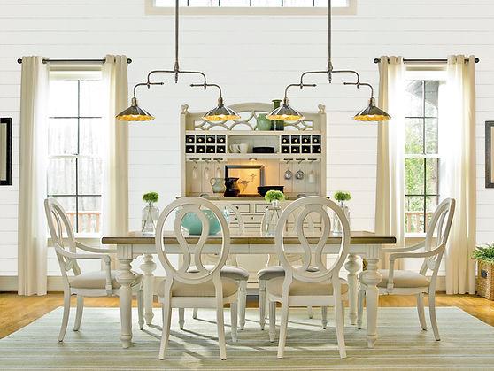 White Wood Dining Room Set.jpg