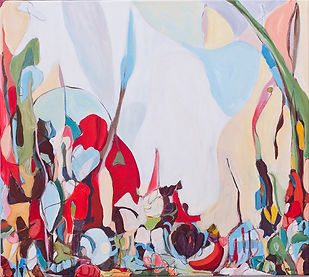 Outside the City, 2015, acylic on canvas