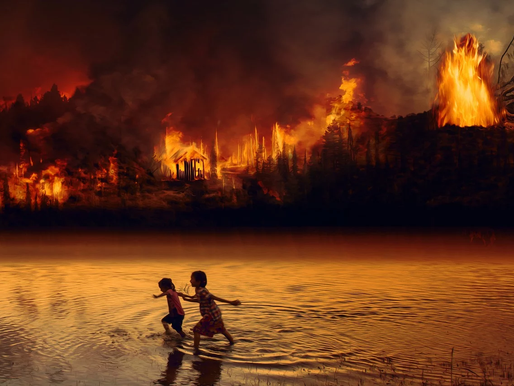 The climate decade: fire, water and the era of extremes