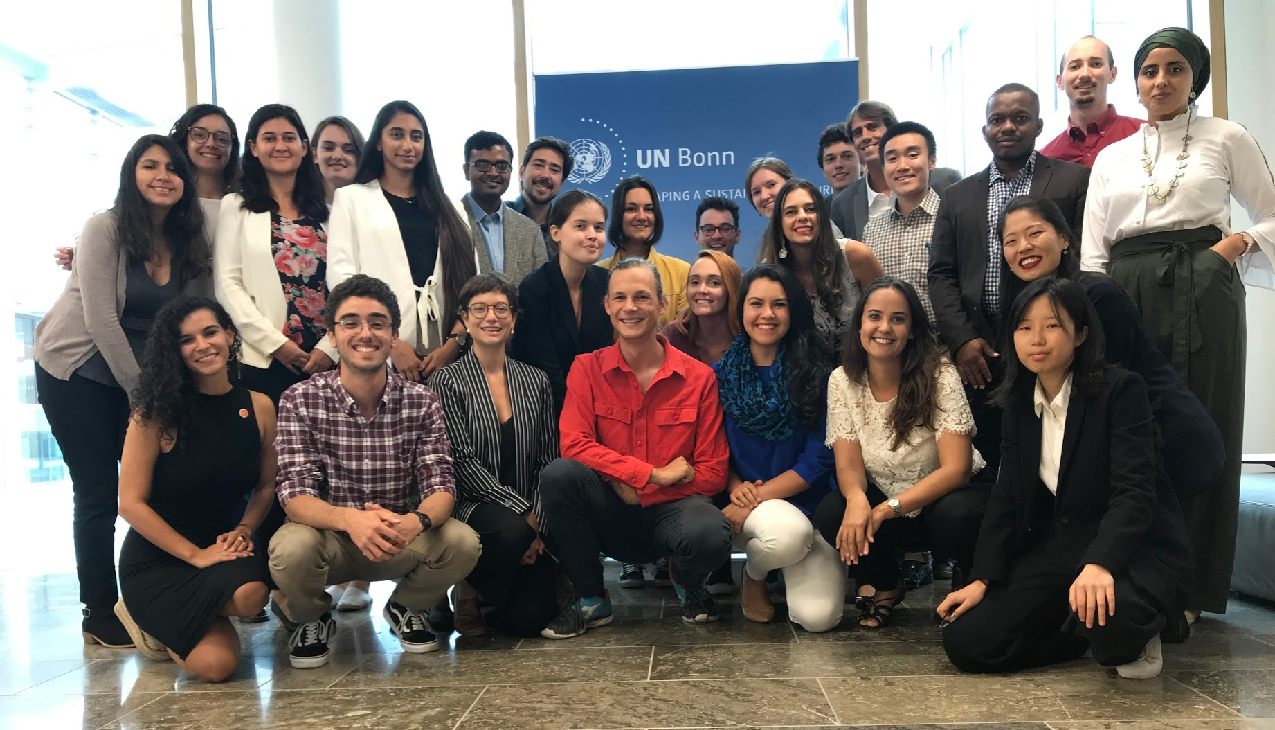 YCL Immersion 2019   Visit to UNFCCC
