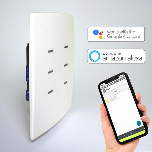 Interruptor Inteligente de 6 botões com Wi-Fi