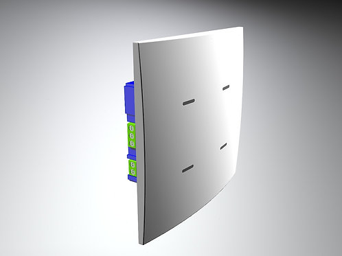 TRR12 - Interruptor Inteligente de 4 botões com Wi-Fi