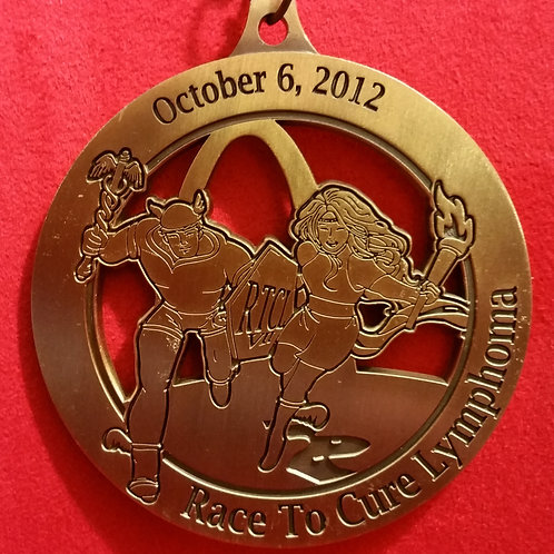 2012 Flat As A Pancake Medal
