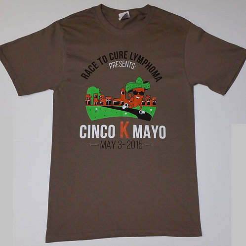 2015 Cinco K Mayo CottonT-Shirt