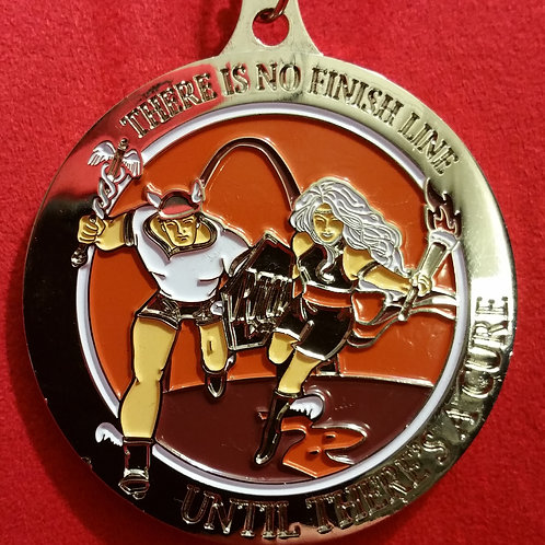 2012 Flat As A Pancake Finisher Medal