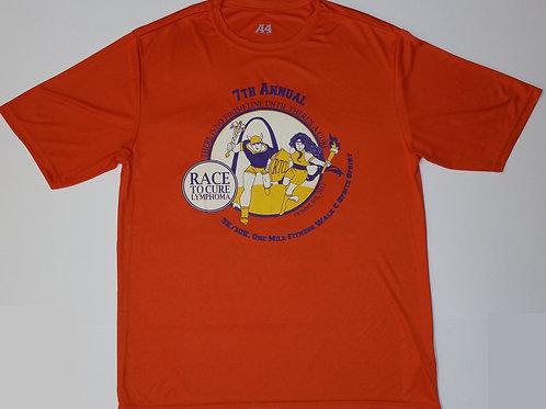 2012 Race To Cure Lymphoma Tech T-Shirt