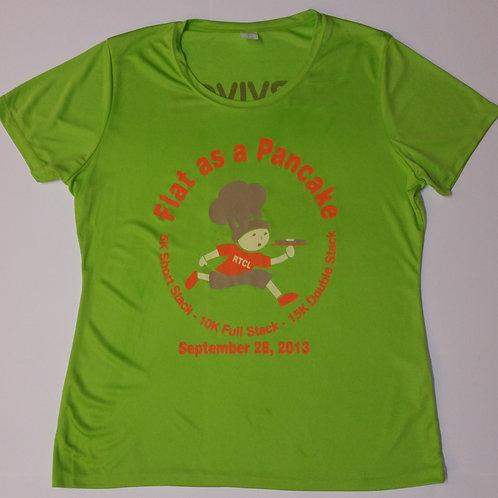 2013 Flat As A Pancake Race Tech T-Shirt Survivor