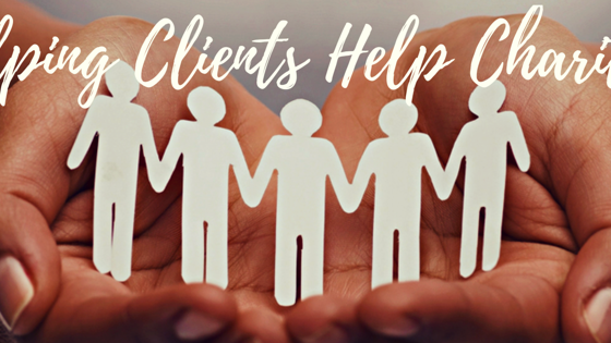 Helping Clients Help Charities