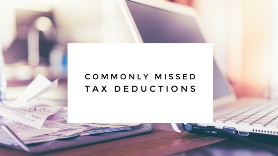 Commonly Overlooked Tax Deductions for 2017
