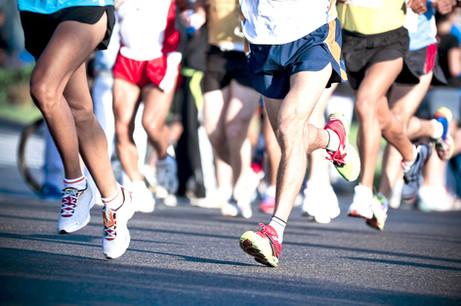Ut og løp