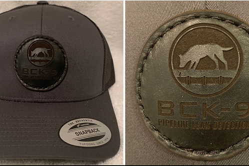 BCK9 Pipeline Retro Trucker 6-panel snapback-Solid Charcoal
