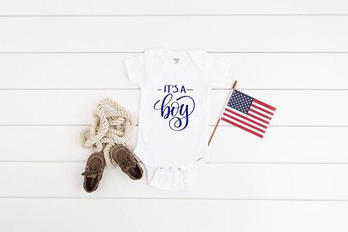 It's a BOY onesie, girl bodysuit baby gift, gender reveal girl baby shower, baby