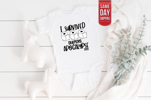 Covid Bodysuit, Quarantine Pregnancy Reveal, Cute Onesie, Gift Custom Baby, Cute