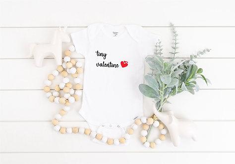 Tiny Valentine Baby Bodysuit