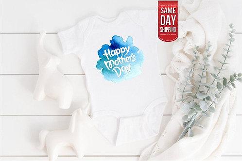 Happy Mother's Day Baby Onesie, Inspirational Baby Onesie Same Day Dispatch, Bab