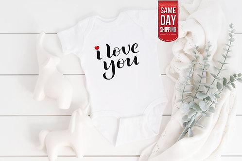 I Love You, Love Of My Life, Cute Onesie, Gift Custom Baby, Best Formula, Everyd