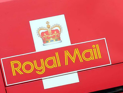 Additional Royal Mail Postage 24 with Online Delivery Confirmation