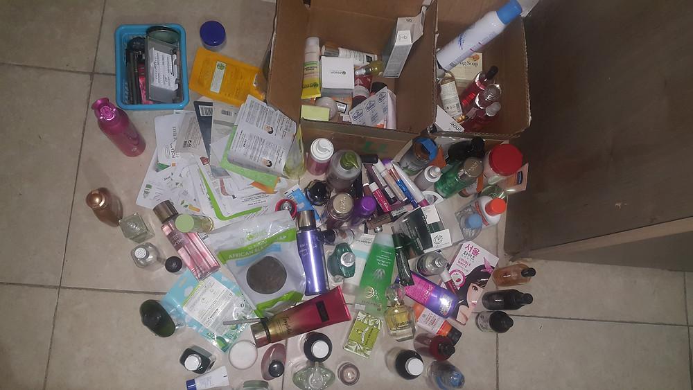 Wyzwanie nie kupuję kosmetyków