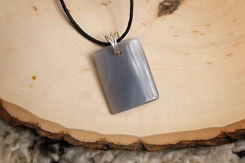Grey Onyx Necklace